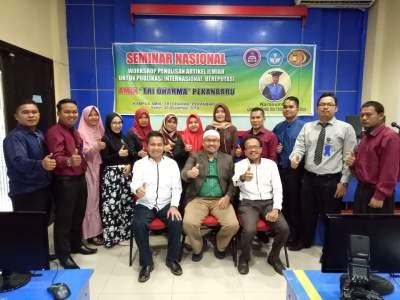 Seminar Nasional, Workshop Penulisan Artikel Ilmiah Untuk Publikasi Internasional Bereputasi