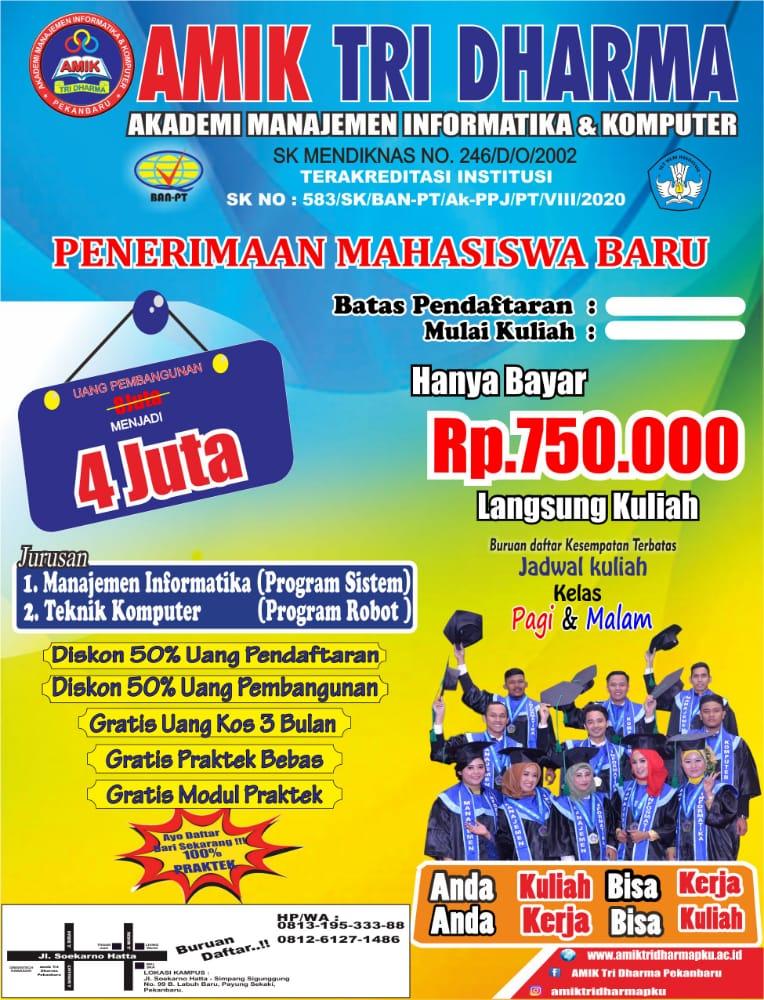 Akreditasi Sekolah Tinggi Teknologi Pekanbaru